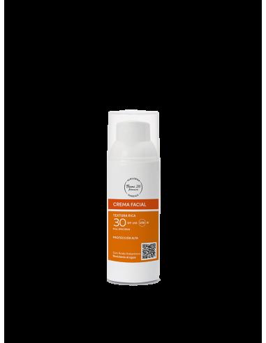 Farmabami 26 Almudena Garriga Crema Solar Facial SPF 30 Textura rica 50 ml